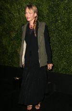 UMA THURMAN at Chanel Dinner at Tribeca Film Festival in New York