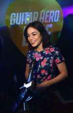 VAESSA HUDGENS at Guitar Hero Live Launch by Activision at Best Buy Theater in New York