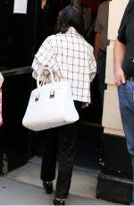 VANESSA HUDGENS Arrives at Neil Simon Theatre in New York 04/22/2015