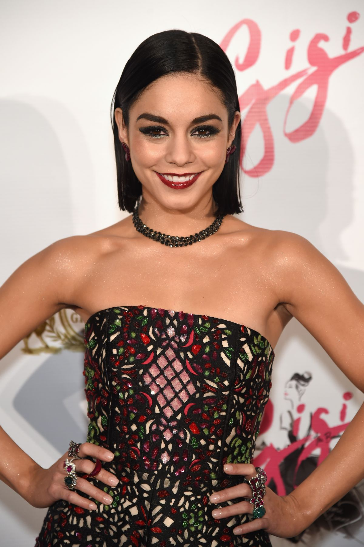 VANESSA HUDGENS at Gig...