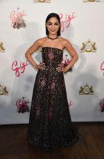 VANESSA HUDGENS at Gigi Broadway Opening Night in New York