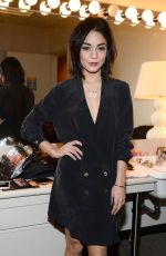 VANESSA HUDGENS in the Backstage at ABC Studios in New York
