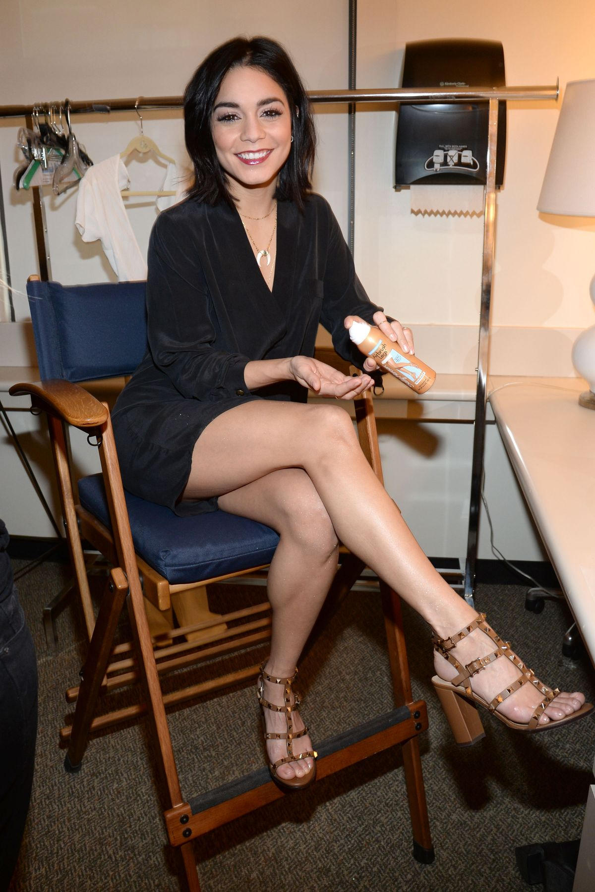 hudgens legs Vanessa hot