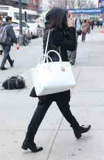 VANESSA HUDGENS Leaves Gemini Beauty Salon in New York
