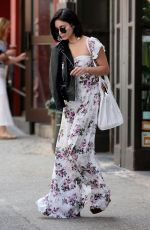 VANESSA HUDGENS Leaves Her Apartment in New York 04/29/2015