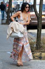 VANESSA HUDGENS Leaves Her Apartment in Soho 04/18/2015