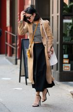 VANESSA HUDGENS Leaves Her Apartment in Soho 04/26/2015