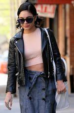 VANESSA HUDGENS Leaves Her Hotel in New York 04/25/2015