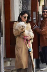VANESSA HUDGENS Leaves Her Residence in New York 04/24/2015