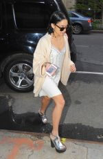 VANESSA HUDGENS Out and About in New York 04/28/2015