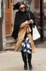 VANESSA HUDGENS Out and About in New York