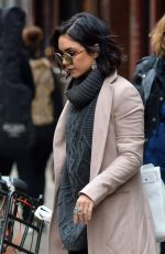 VANESSA HUDGENS Out in New York