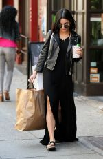 VANESSA HUDGENS Out Shopping in New York 04/19/2015