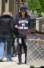 VANESSA HUDGENS Out Shopping in New York 04/26/2015