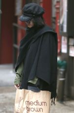VANESSA HUDGENS Out Shopping in New York