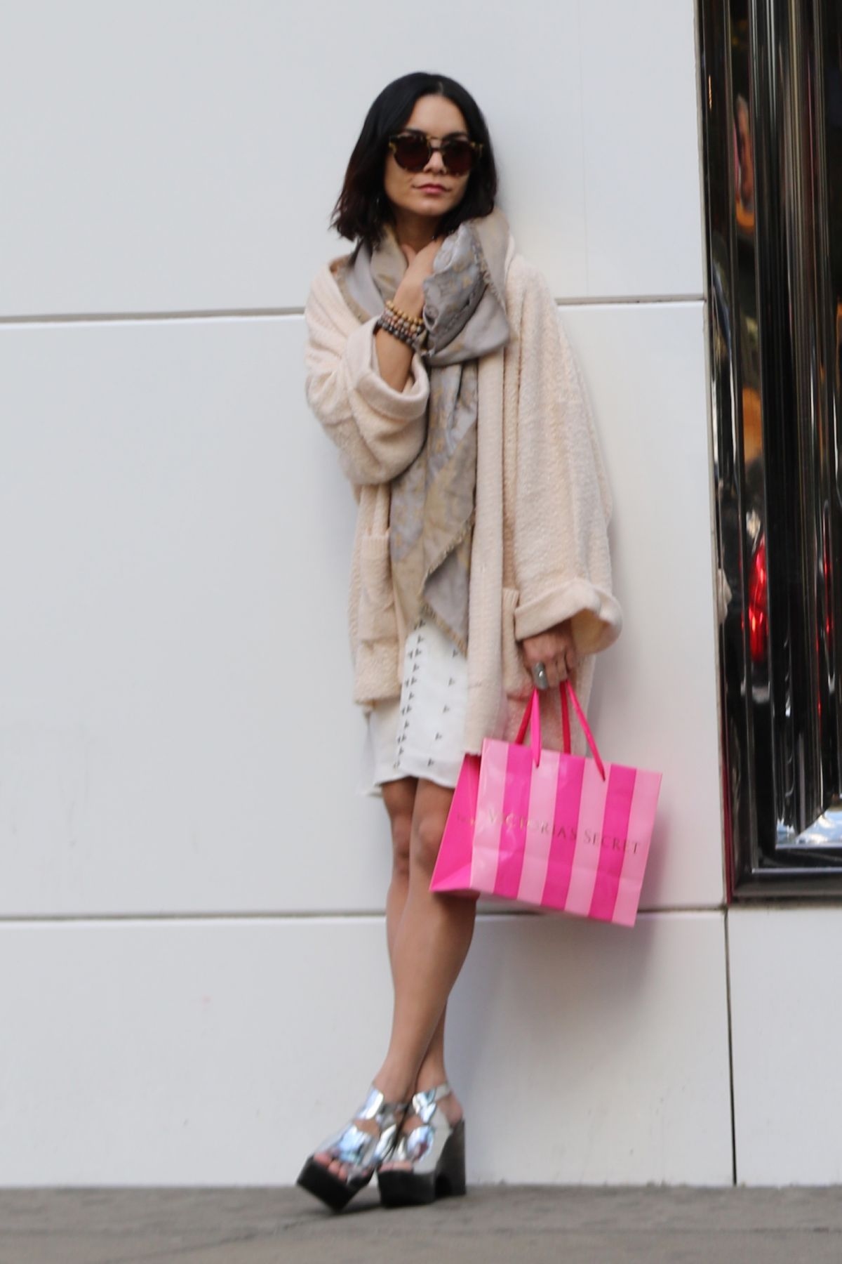 VANESSA HUDGENS Shopping at Victoria