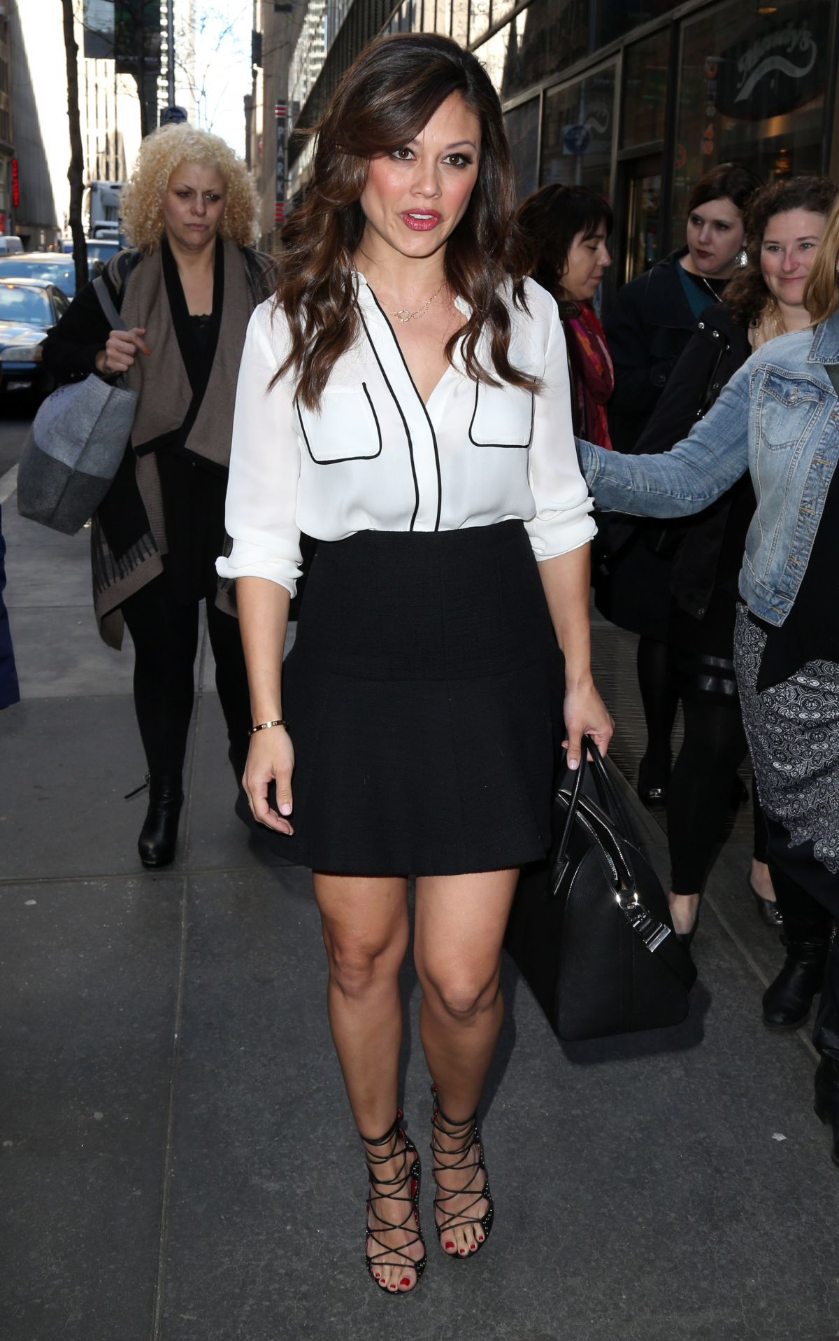 VANESSA LACHEY at Today Show in New York 04/28/2015