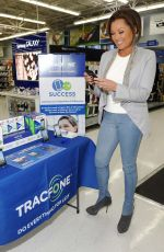 VANESSA WILLIAMS at Tracfone Promo Event in Walmart in Secaucus