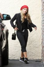 WILLOW SHIELDS at DWTS Practice in Studio City 04/22/2015