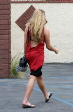 WILLOW SHIELDS at DWTS Rehearsal Studio in Hollywood 04/23/2015