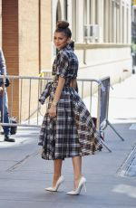 ZENDAYA COLEMAN Arrives at The View in New York 04/22/2015