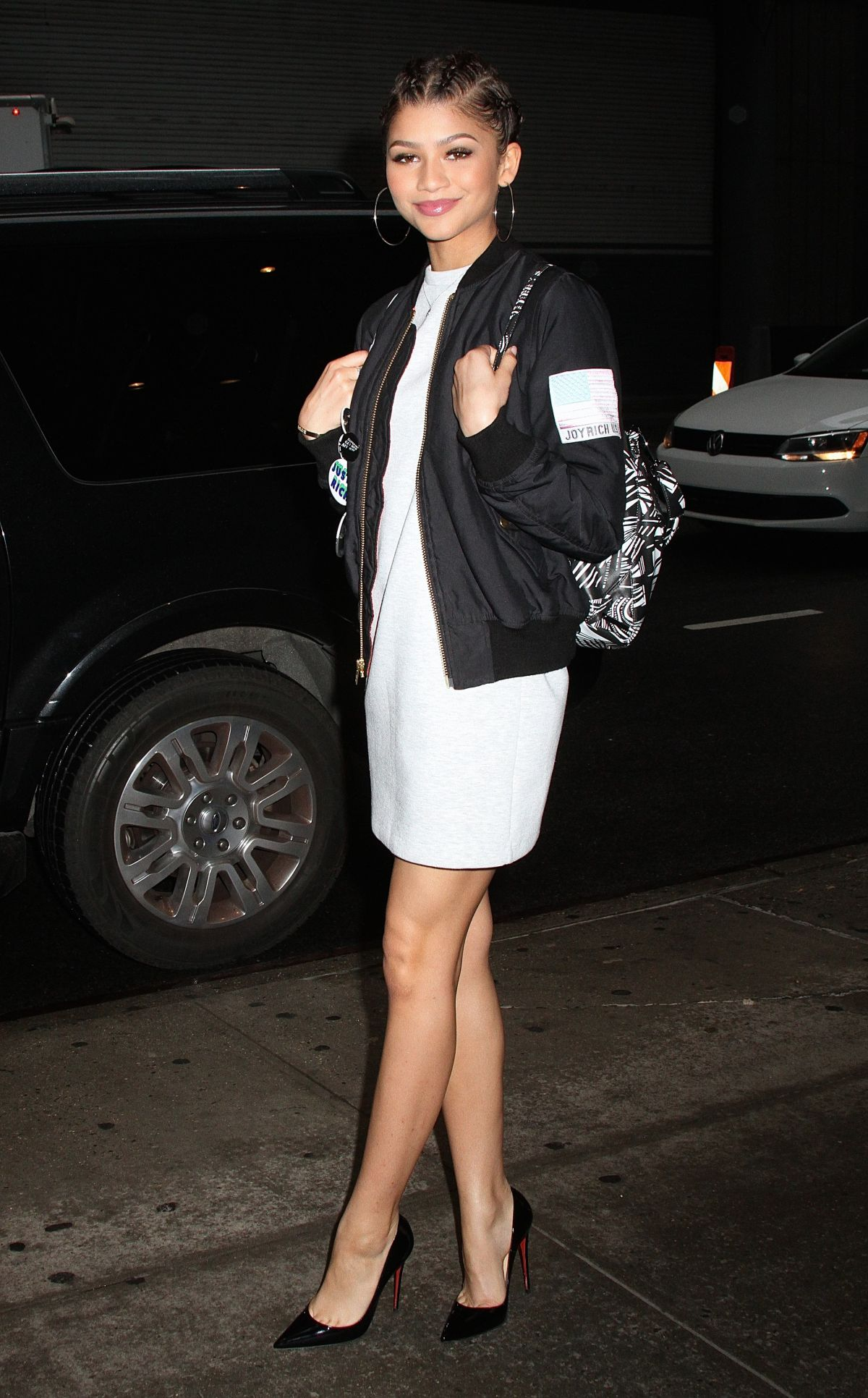 ZENDAYA COLEMAN Leaves Her Hotel in New York 04/21/2015