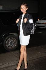ZENDAYA COLEMAN Leaves Her Hotel in New York 04/21/2015