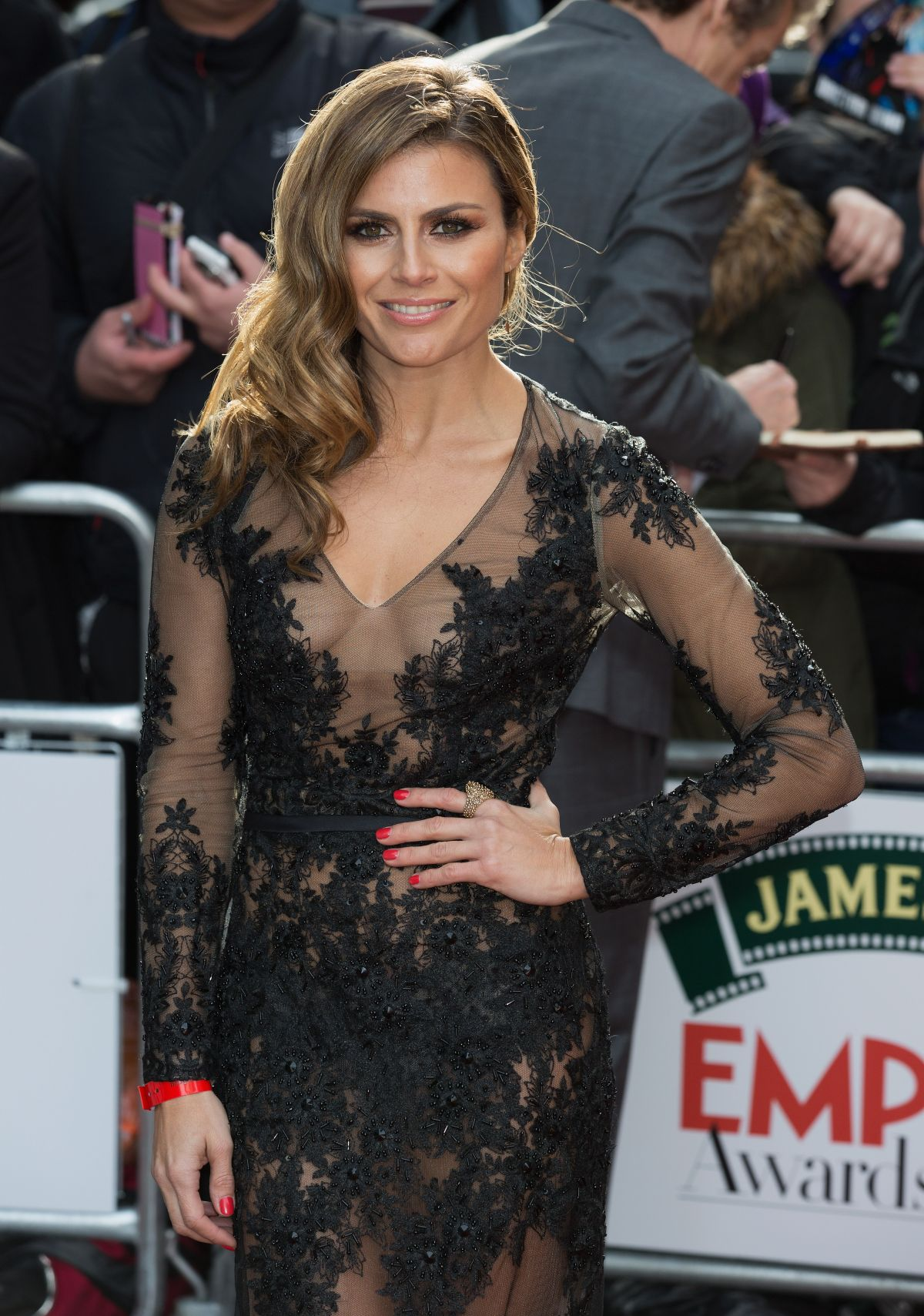 ZOE HARDMAN at The Jameson Empire Awards 2015 in London