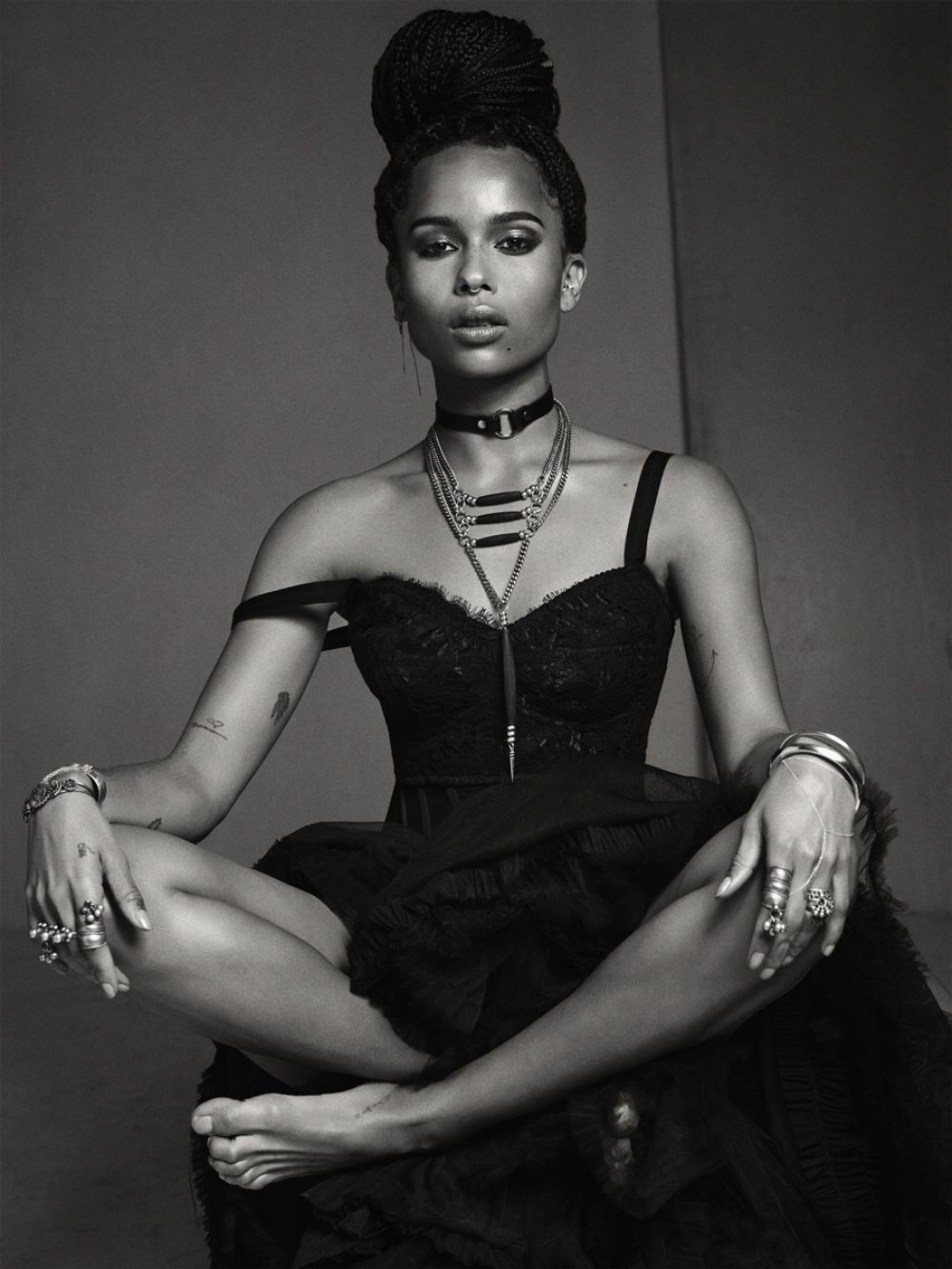 ZOE KRAVITZ in Flaunt Magazine