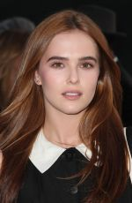 ZOEY DEUTCH at Wolk Morias Resort Pre-fall Collection Fashion Show in Los Angeles