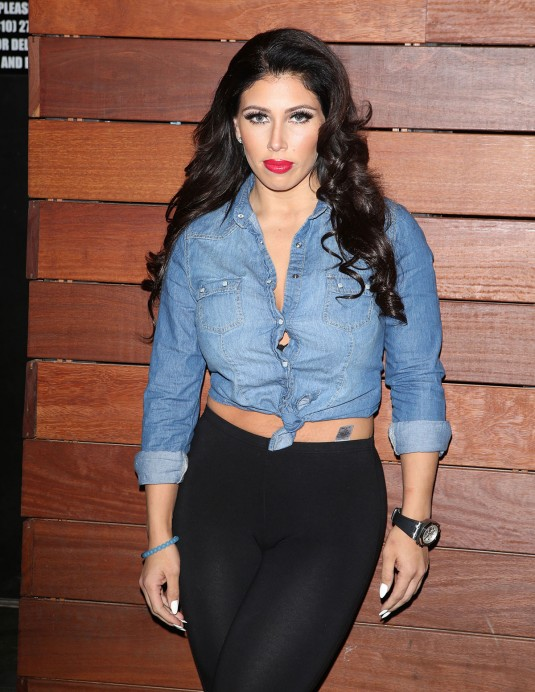 CARMEN ORTEGA Leaves the Roxy in West Hollywood