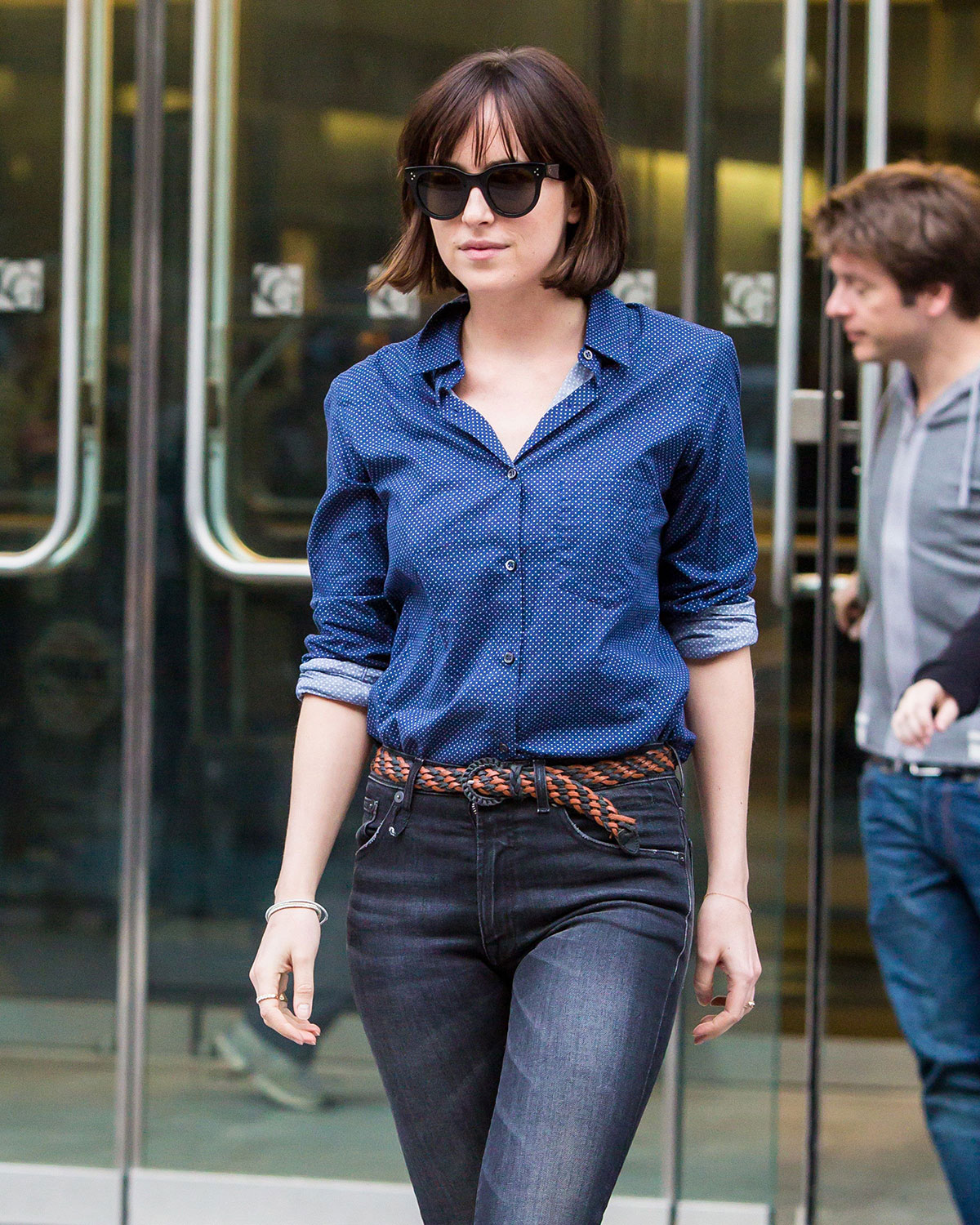 Dakota johnson on the set of how to be single in new york 05152015 dakota johnson on the set of how to be single in new york ccuart Image collections