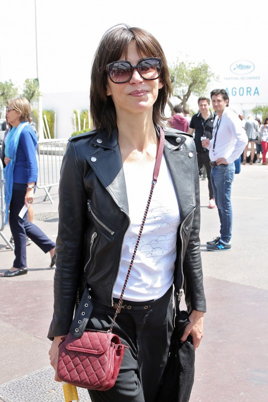 SOPHIE MARCEAU Out and About in Cannes 05/16/2015