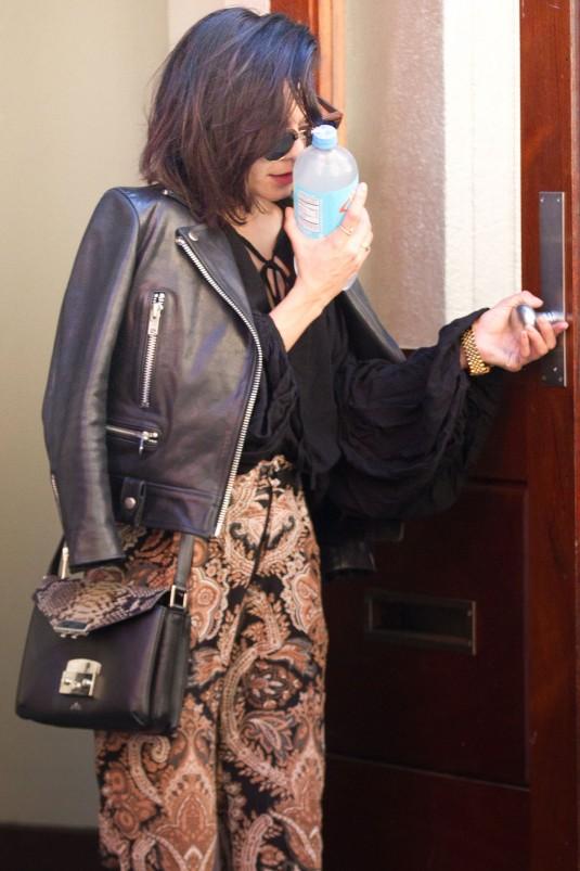 VANESSA HUDGENS Leaves Her Apartment in Soho