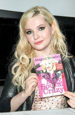 ABIGAIL BRESLIN at Bookcon 2015 in New York