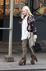 ABIGAIL BRESLIN Out and About in New York 05/24/2015