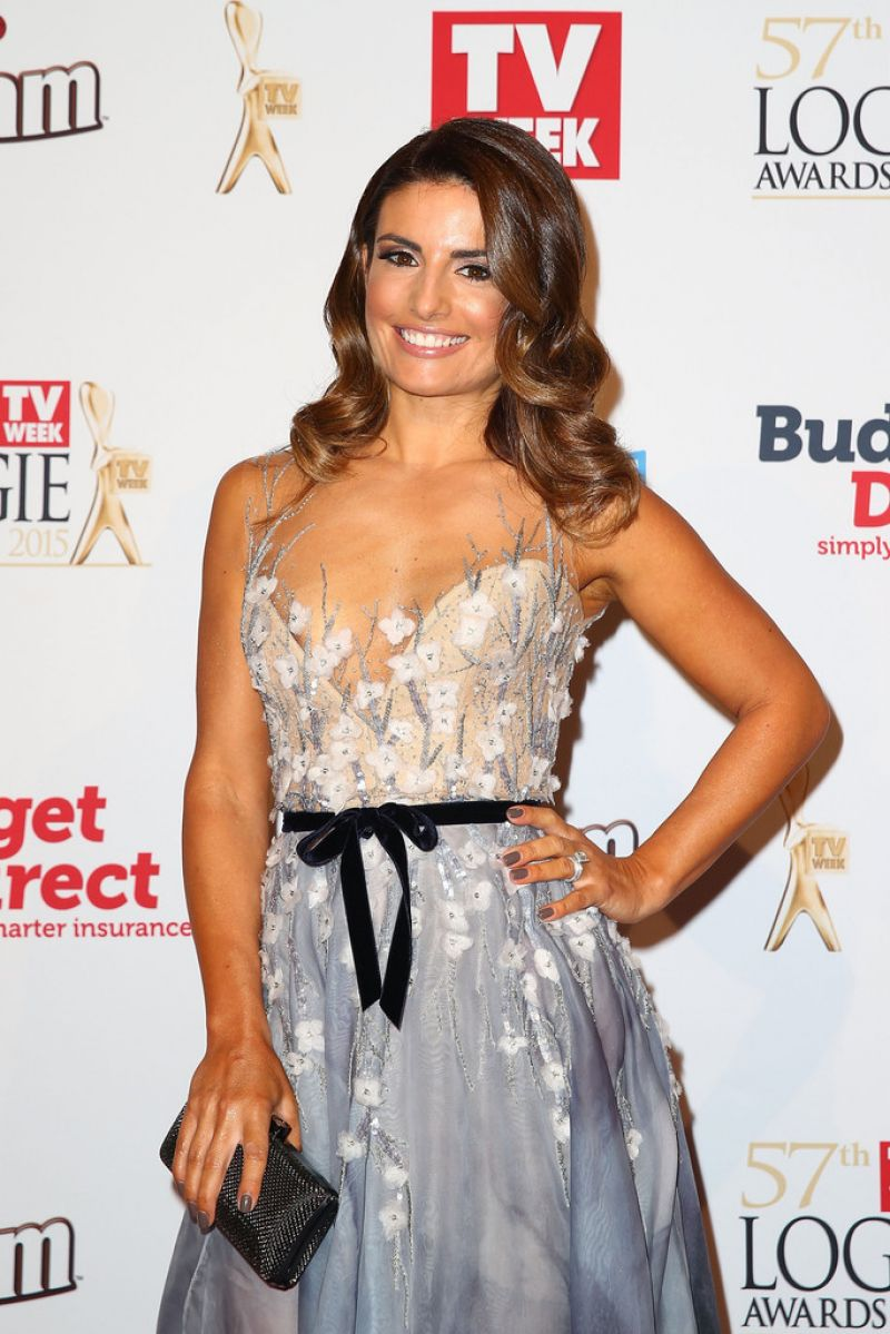 ADA NICODEMOU at Logie Awards in Melbourne