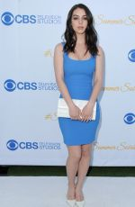 ADELAIDE KANE at 2015 CBS Summer Soiree in West Hollywood