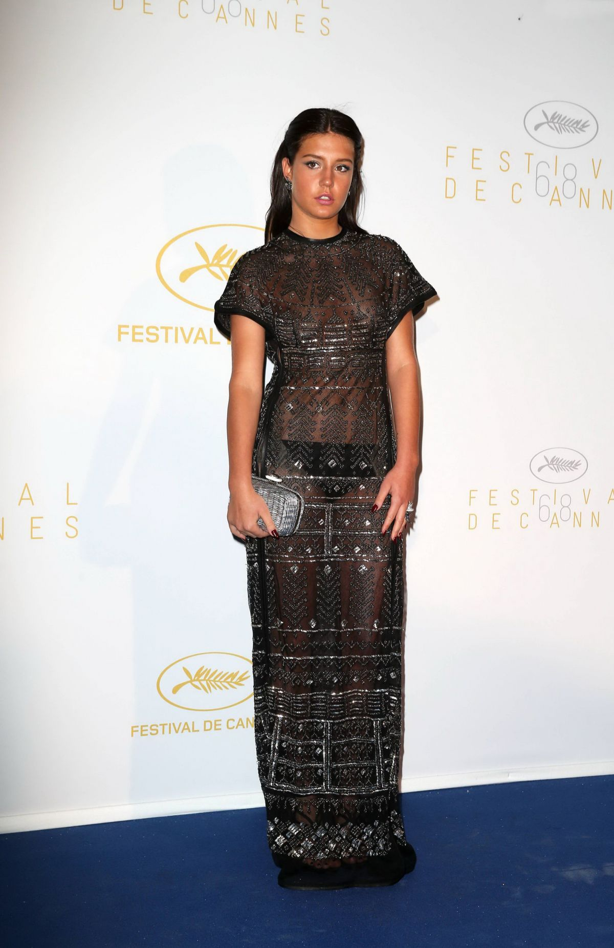 ADELE EXARCHOPOULOS at 68th Annual Cannes Film Festival Opening Ceremony