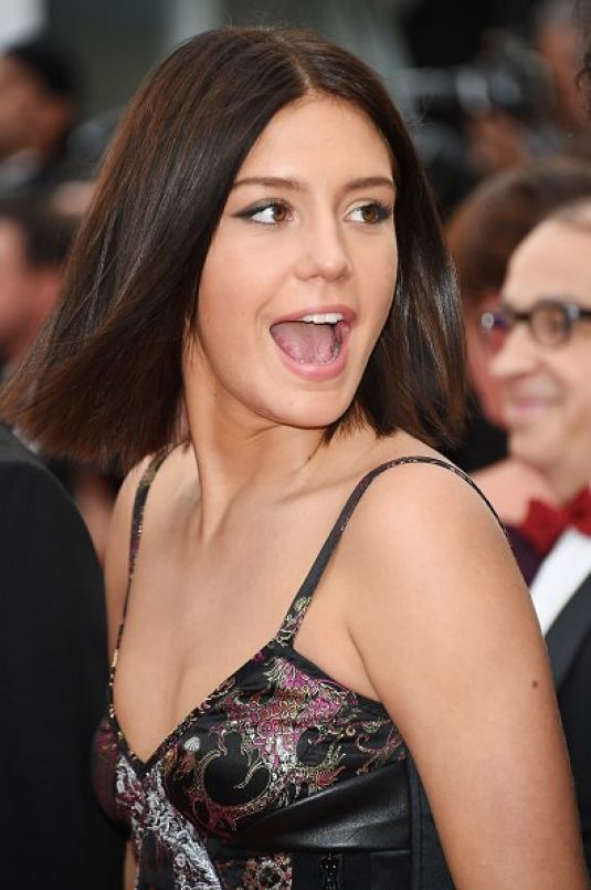 ADELE EXARCHOPOULOS at Irrational Man Premiere at Cannes Film Festival