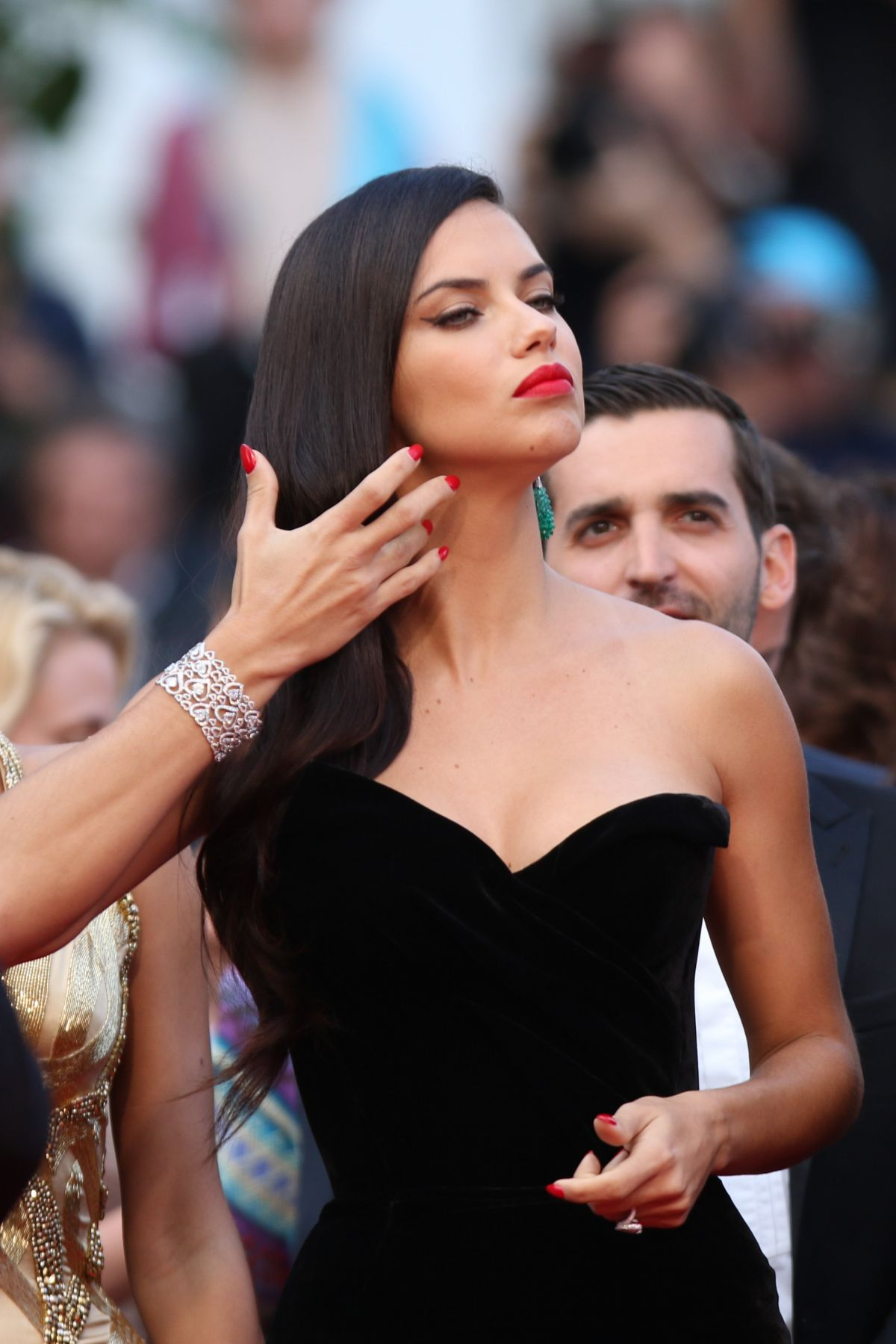 ADRIANA LIMA at Sicario Premiere at Cannes Film Festival