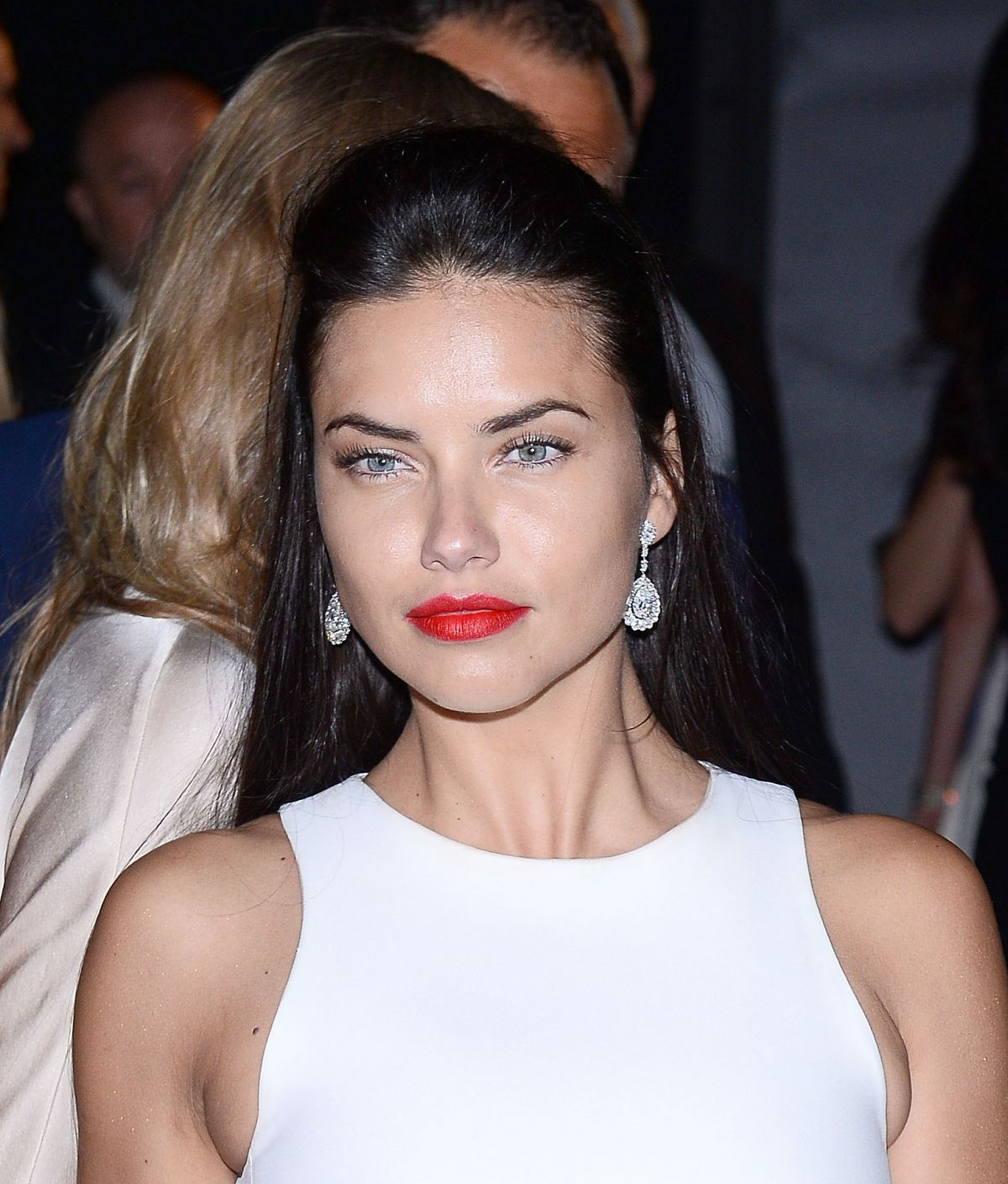 Adriana Lima: ADRIANA LIMA At Soiree Chopard Gold Party In Cannes