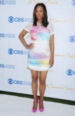 AISHA TYLER at 2015 CBS Summer Soiree in West Hollywood