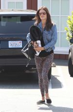 ALESSANDRA AMBROSIO Arrives at Yoga Class in Brentwood 05/03/2015