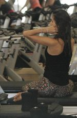 ALESSANDRA AMBROSIO at a Pilates Class in Brentwood 05/02/2015