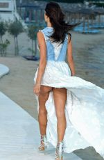 ALESSANDRA AMBROSIO at Replay Fashion Show in Mykonos