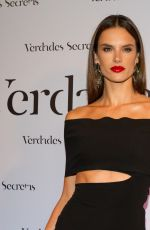 ALESSANDRA AMBROSIO at Verdades Secretas Party in Sao Paulo