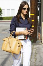 ALESSANDRA AMBROSIO Out and About in Beverly Hills 05/13/2015