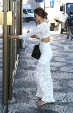 ALESSANDRA AMBROSIO Out and About in Rio De Janeiro