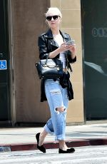 ALESSANDRA TORRESANI in Ripped Jeans Out in West Hollywood 05/21/2015